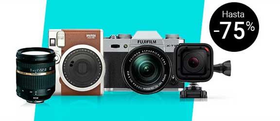 Hasta un 75% de descuento en Fotografía