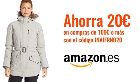 Código descuento en Amazon Promoción INVIERNO