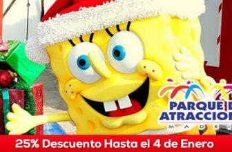Oferta Navidad Parque de Atracciones de Madrid 1