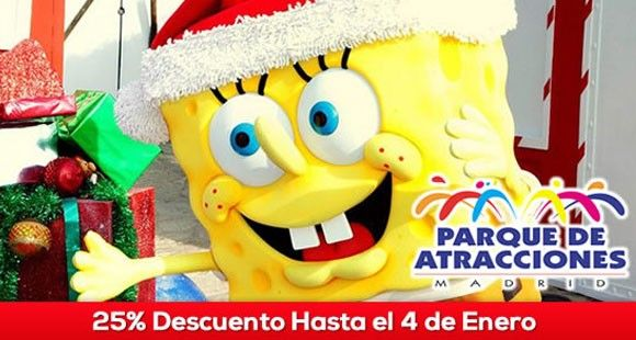Oferta Navidad Parque de Atracciones de Madrid