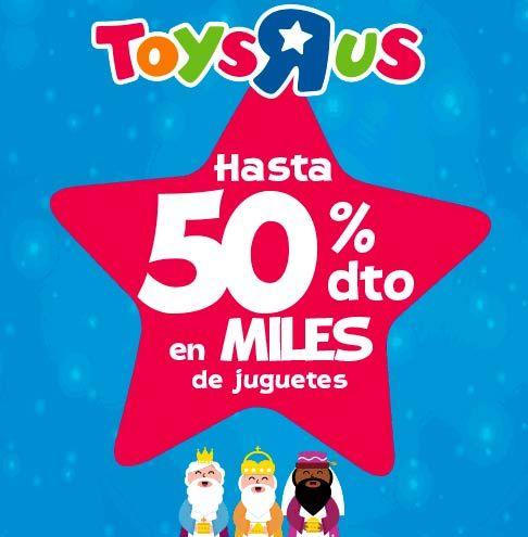 Descuentos en juguetes hasta el 5 de enero