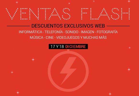 Ventas Flash en Fnac - 17 y 18 de diciembre