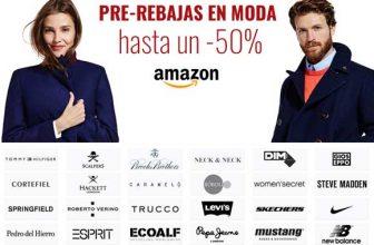 Rebajas en Amazon - Hasta un 50% en Moda.