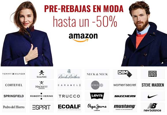 Rebajas en Amazon - Hasta un 50% en Moda.