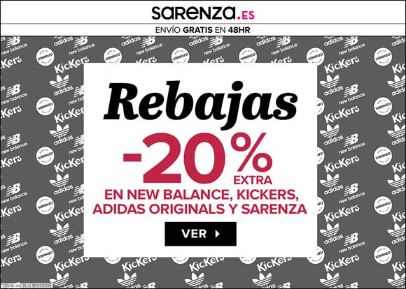 Rebajas en Adidas Originals, New Balance y Kickers. 4