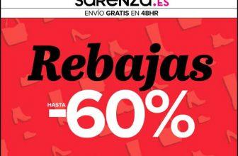 Sarenza - Rebajas en Zapatos hasta un 60% 1