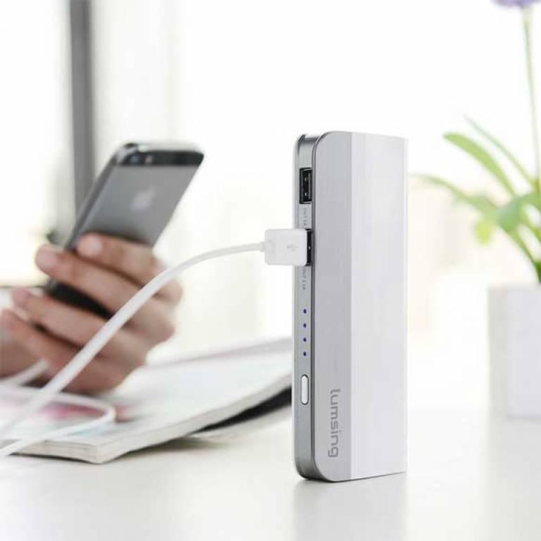 lumsing cargador portatil con cupon descuento exclusivo smartshoppers x