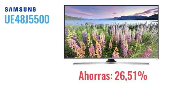 oferta-Samsung-UE48J5500