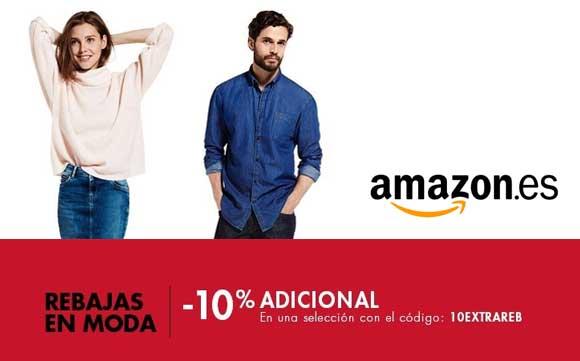 Código descuento de Amazon en ropa y zapatos