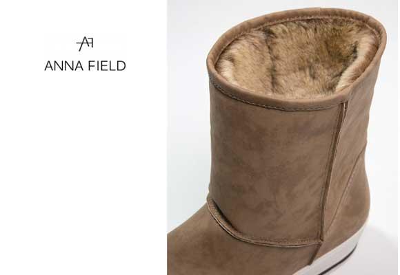 ¡Chollo! Botines Anna Field por 14,95 €