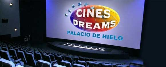 Cines Dreams descuento de 40%