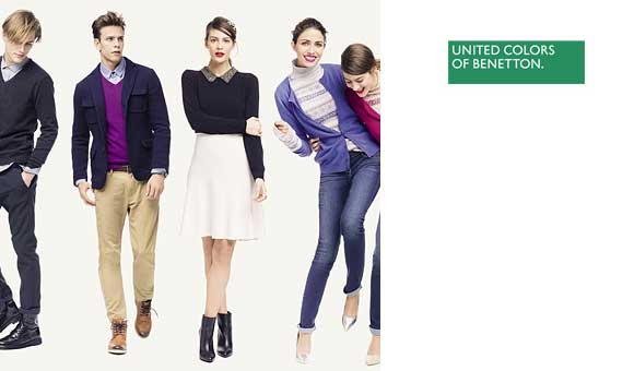 United Colors of Benetton descuentos online