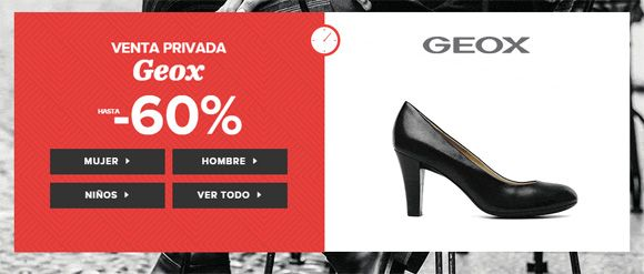 ¡Chollo! Calzado Geox en Sarenza - Hasta 60% de descuento