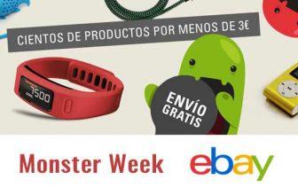 Monster Week en eBay. Ofertas por menos de 3€
