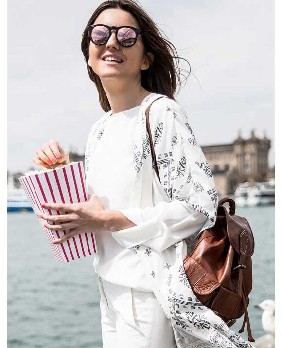 Ropa ibicenca online - Kimono étnico