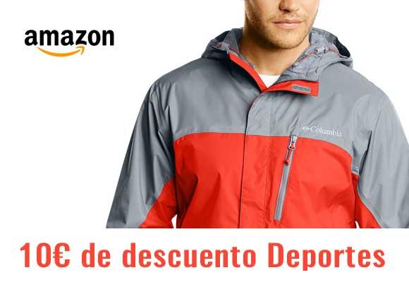 Código descuento 10€ en Amazon Deportes