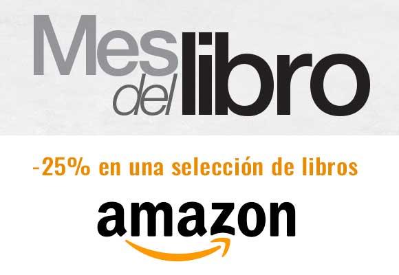 Descuentos en el Mes del libro de Amazon