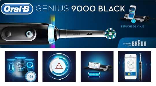 Cepillo electrico Oral-B Genius 9000 con tecnología bluetooth