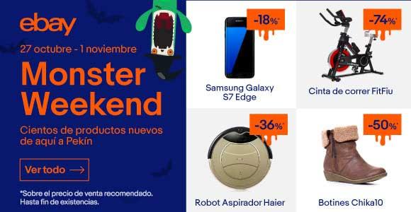 Monsterweekend Halloween! Precios de miedo en eBay