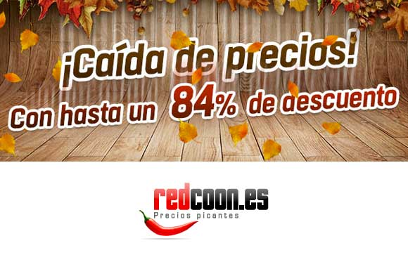 Redcoon ¡Chollos con hasta un -98%!