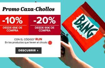 Promoción CAZA-CHOLLOS en Sarenza
