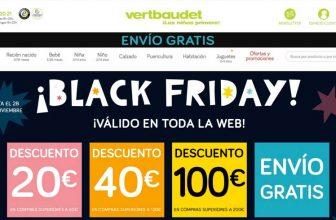¡Black Friday Vertbaudet! Descuentos y envío gratuito