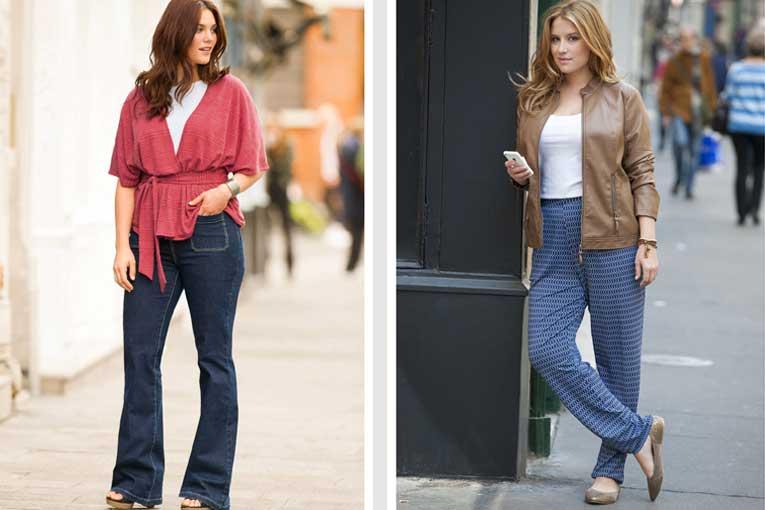 Moda en tallas grandes para mujer