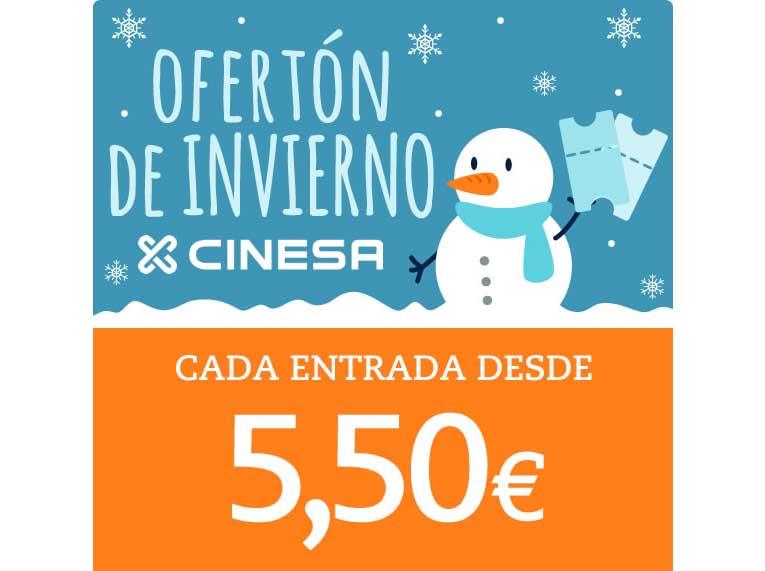 Descuentos Cinesa - Al cine desde 5,50€ 2