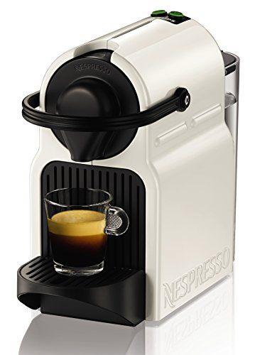 Krups Inissia XN1001 – Cafetera Nespresso, color blanco, 16 capsulas, 1260 W, color blanco