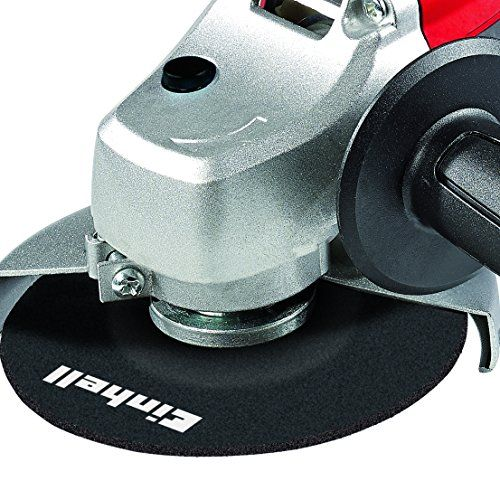 Einhell TC-AG 125 – Amoladora (disco: 125 mm, 850 W) color rojo