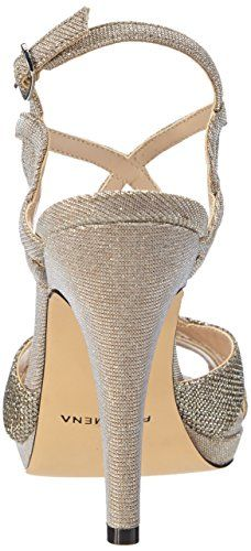 17350eb34 Paco Mena Durcal – Sandalias de vestir de material sintético para mujer