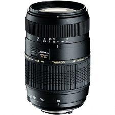 Tamron A17NII – Objetivo para Nikon (70-300mm, f/4-5.6, macro, 62 mm), color negro Objetivos para Cámaras