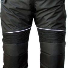 German Wear, Pantalones de Moto, Negro, 52/L Ropa para motoristas
