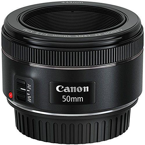 Canon  – Objetivo para cámara réflex EF 50 mm, F/1.8 STM