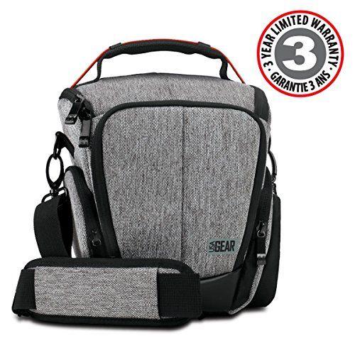 USA GEAR UTL – Estuche Impermeable para Cámara Reflex, Bolsa Protectora DSLR, Funda de Cámara Digital como Nikon D3300 D750 D5300 D5500 Canon EOS Accesorios Fotografía