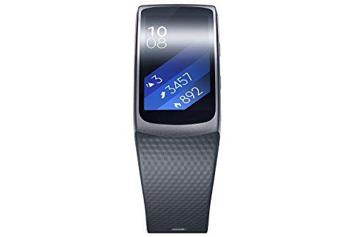 Samsung Gear Fit 2 - Smartwatch de 1.5'' (4 GB, 1 GHz, 512 MB RAM, Tizen, talla L), color negro