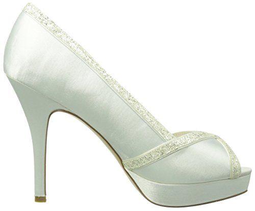 Paco Mena Almudena – Zapatos de vestir de raso para mujer