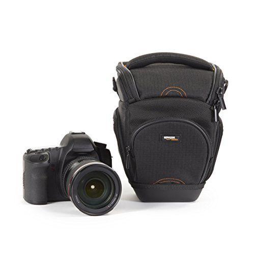 AmazonBasics – Funda para cámara de fotos réflex, color negro Accesorios Fotografía