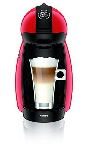 Krups Dolce Gusto Piccolo – Cafetera, 1500 W, color rojo