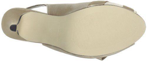 Paco Mena Schinus 4631 – Zapatos con correa de tobillo de satén para mujer