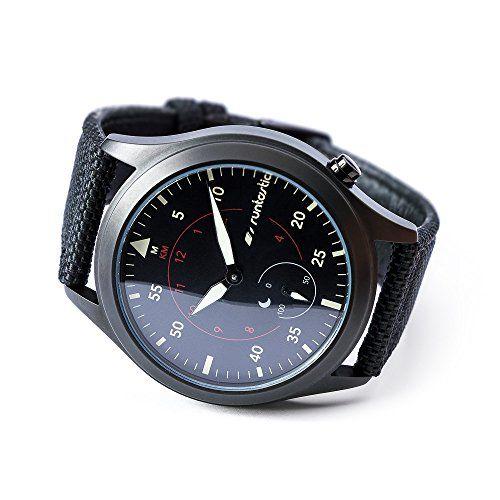 Runtastic Moment Elite - Monitor de actividad (Bluetooth, Runtastic Me app, batería de litio), correa de color negro (importado)