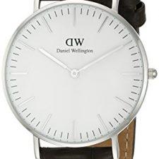 Daniel Wellington 0610DW  – Reloj analógico para mujer, correa de cuero color marrón Relojes Daniel Wellington
