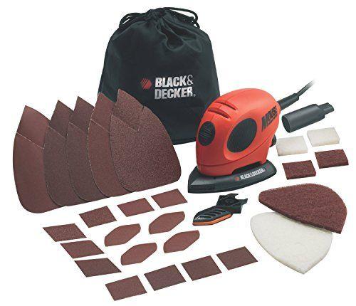 Black & decker KA161BC-QS – Lijadora de detalles (55 w, 230 v)