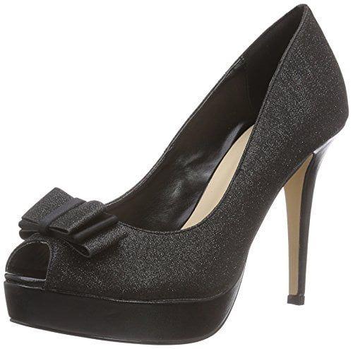 Paco Mena Torrox – zapatos de tacón con punta descubierta de material sintético mujer