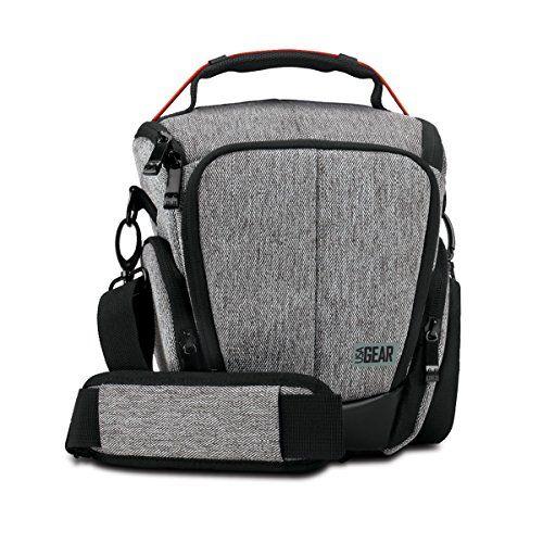 USA GEAR UTL – Estuche Impermeable para Cámara Reflex, Bolsa Protectora DSLR, Funda de Cámara Digital como Nikon D3300 D750 D5300 D5500 Canon EOS