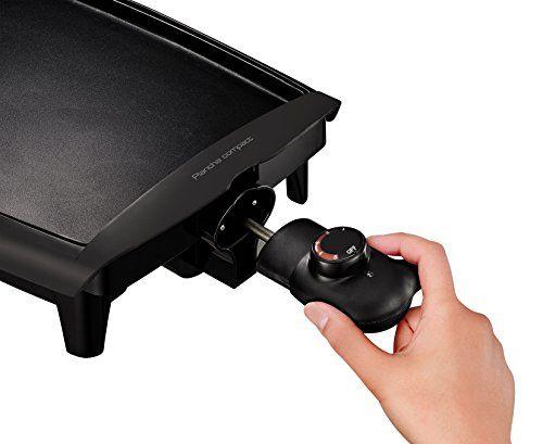 Tefal Compact CB500512 - Plancha de asar (antiadherente, 1800 W, compatible lavavajillas, 45 x 30 x 9 cm, superficie de cocción: 25 x 35 cm)