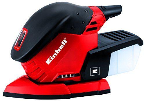Einhell RT-OS 13 – Lijadora múltiple (230 V) color rojo y negro