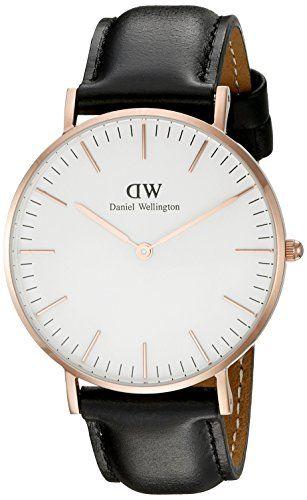 Daniel Wellington 0508DW – Reloj con correa de acero para mujer, color blanco / gris