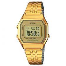 Casio Collection – Reloj Mujer Correa de Acero Inoxidable LA680WEGA-9ER Relojes