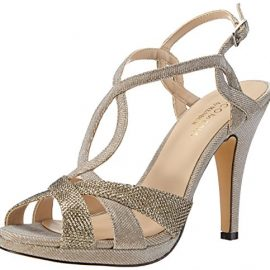 647a24a3f84 Paco Mena Durcal – Sandalias de vestir de material sintético para mujer